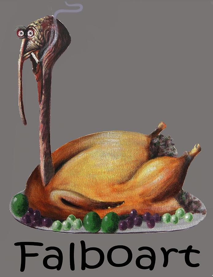 Baked Turkey T-Shirt by Anthony Falbo