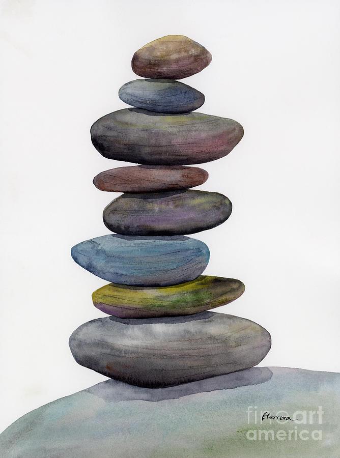Balanced Rocks Painting