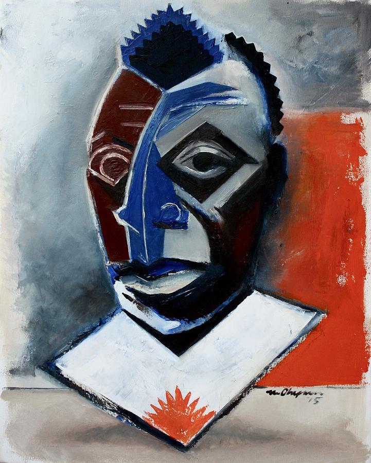 James Baldwin Painting - Baldwin / The Fire Next Time by Martel Chapman