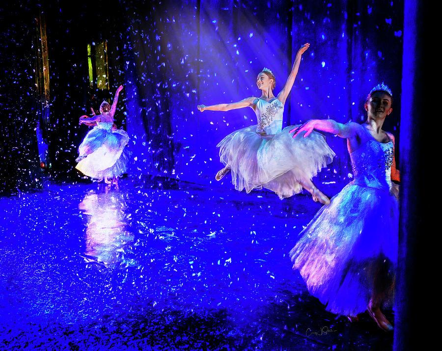 Ballerina Leap by Craig J Satterlee
