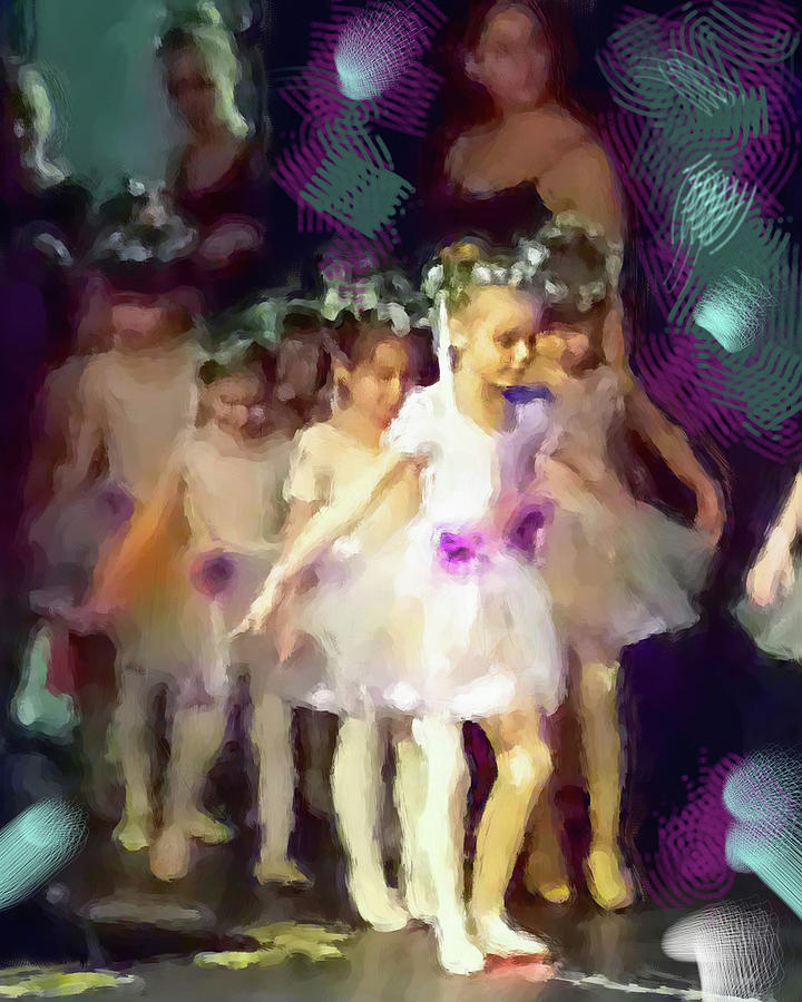 Ballet Recital Digital Art By Cordia Murphy