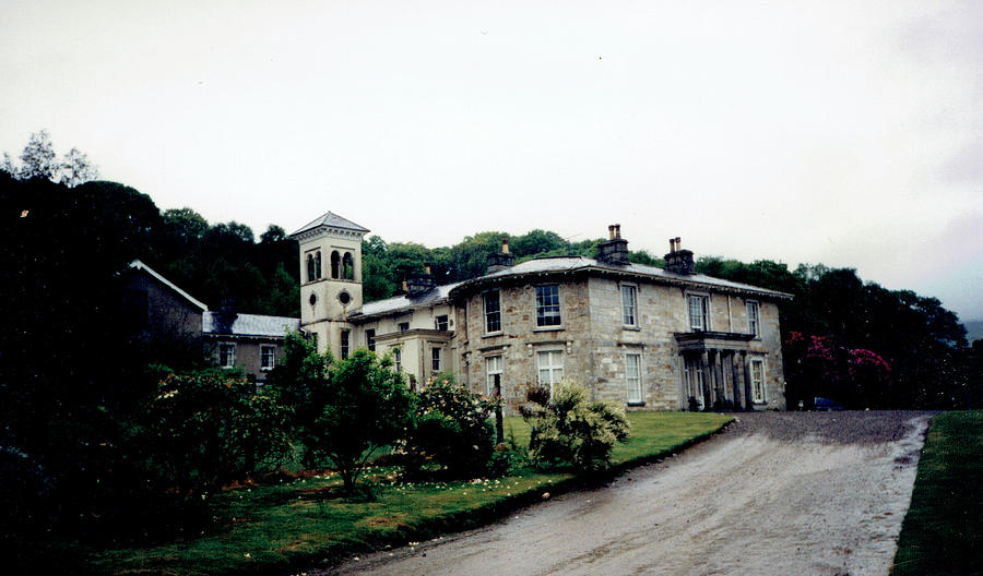Ballinacor Manor, Glenmalure, Wicklow by Val Byrne