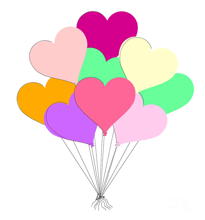 Balloon Bouquet for Valentines Day by Colleen Cornelius