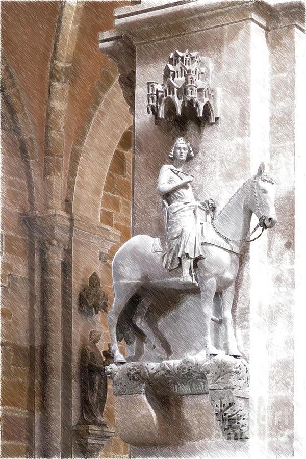 Bamberg Horseman Photograph