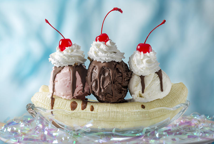 Banana Split Photograph by Ian Gwinn