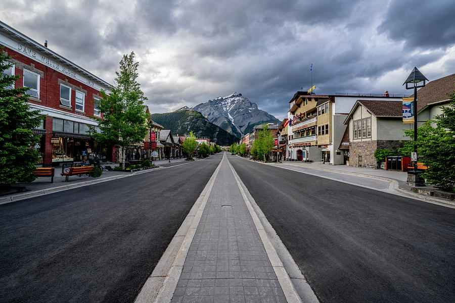 Banff Avenue 2020 Photograph