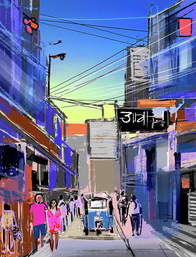 Bangkok City Digital Art