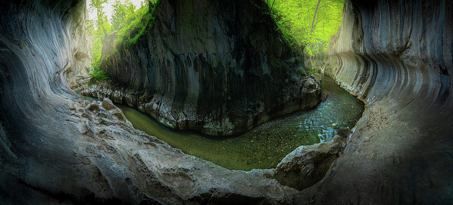 Gorges Photograph - Banita Gorges by Cosmin Stan