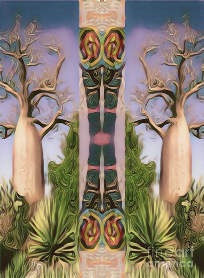 Baobab Heritage by Fania Simon