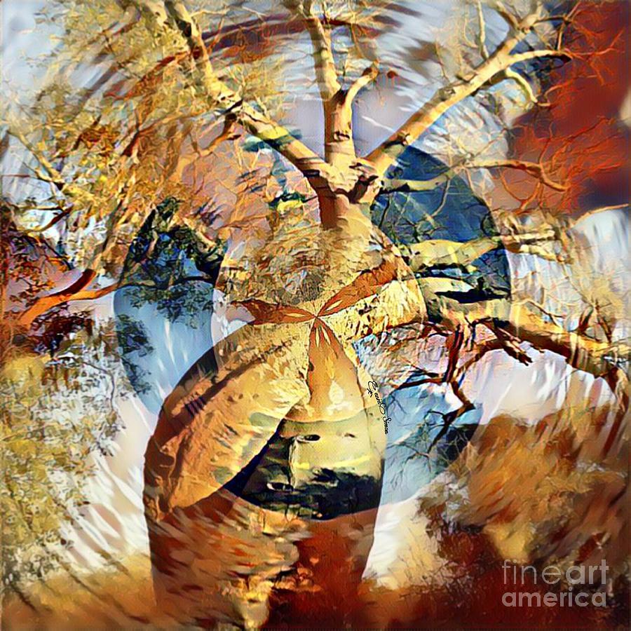 Baobab Wind by Fania Simon