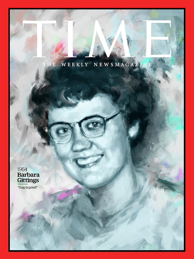 Time Photograph - Barbara Gittings, 1964 by Illustration by Ivana Besevic