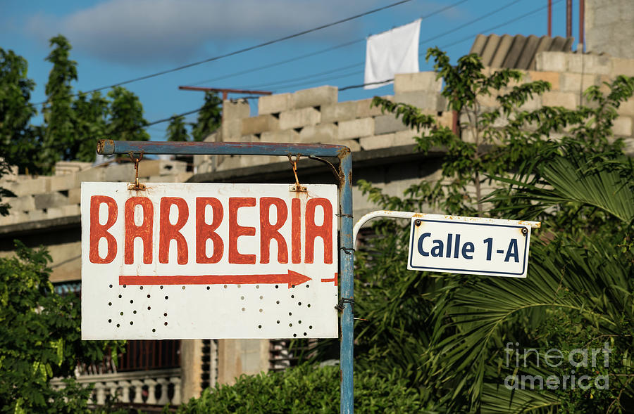 Barberia / Barber shop sign by Les Palenik