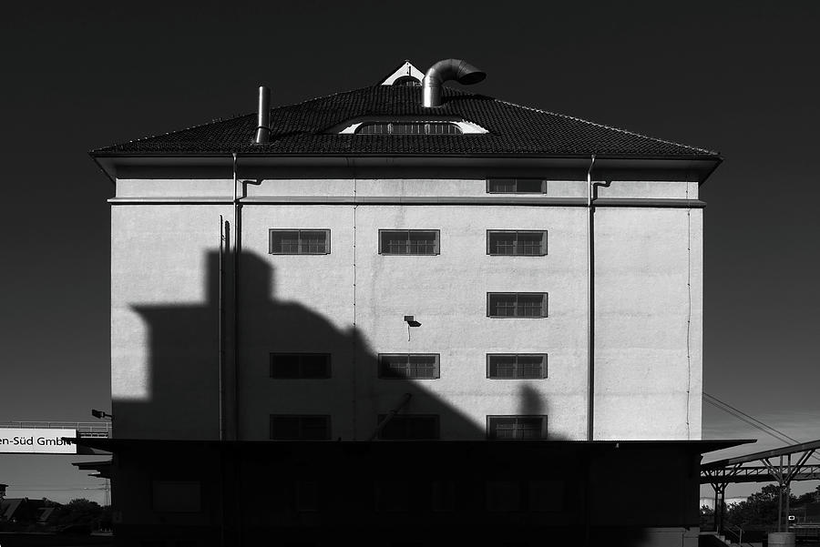 Harbour Building Shadow Photograph