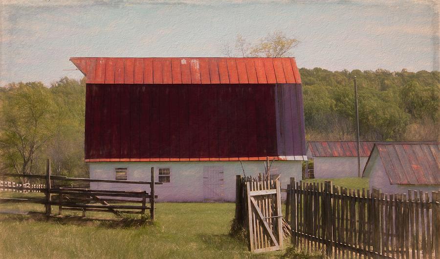 Barn At Sky Meadows Digital Art