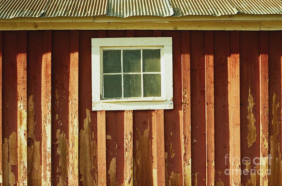 Barn Window by Ana V Ramirez