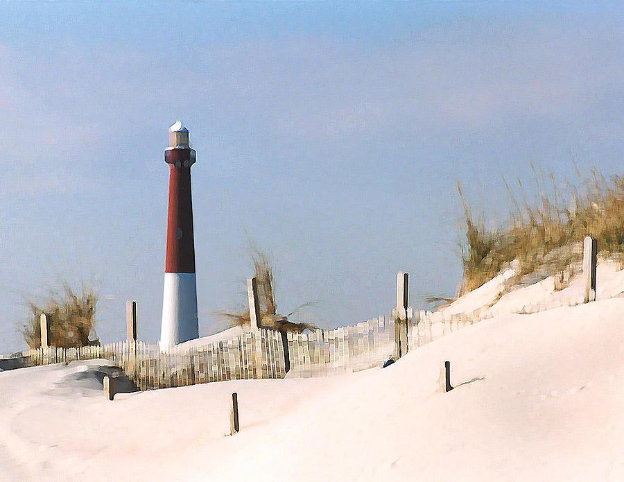 Barnegat Photograph - Barnegat Lighthouse by Steve Karol