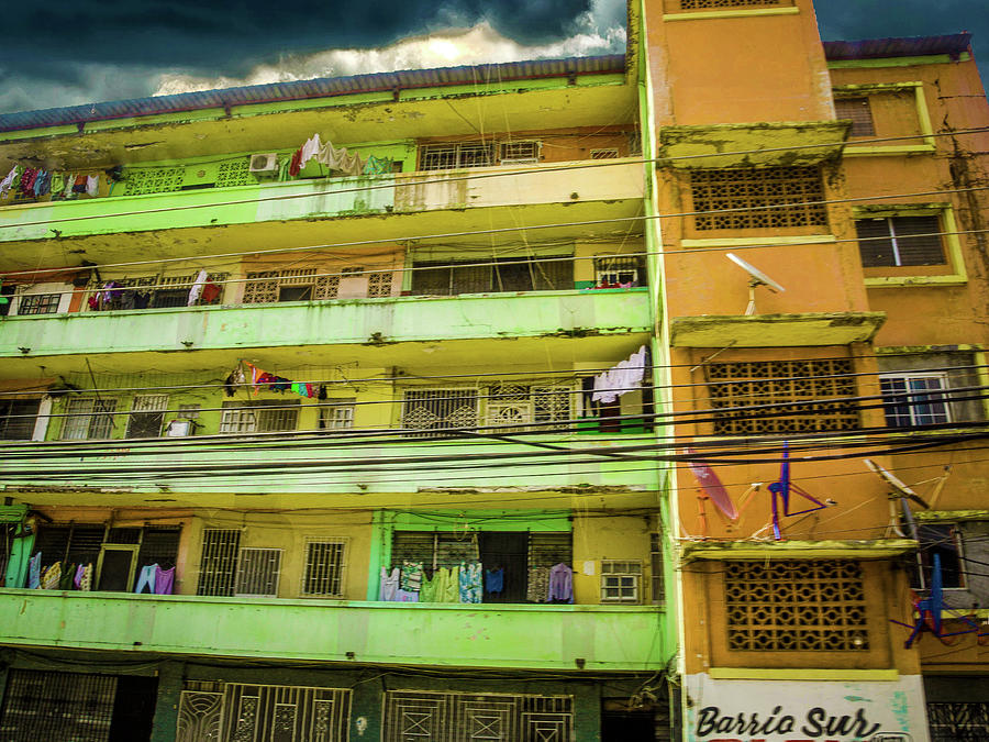 Barrio Sur, Colpn, Panama by Max Huber