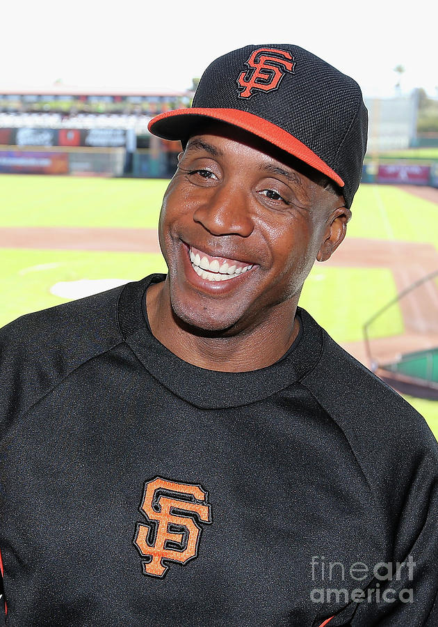 Barry Bonds Photograph by Christian Petersen