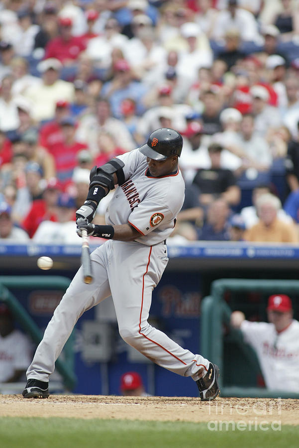 Barry Bonds Photograph by Rob Leiter