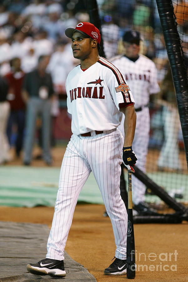 Barry Larkin Photograph by Mlb Photos