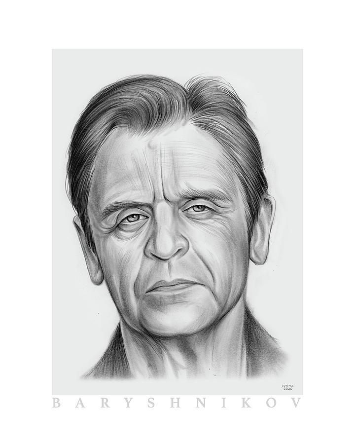 Baryshnikov - Pencil Drawing