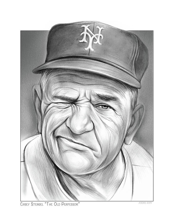 Baseball Great Casey by Greg Joens