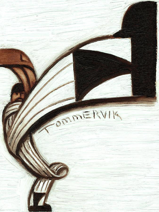 Baseball Painting - Baseball Pitching Windup Art Print by Tommervik