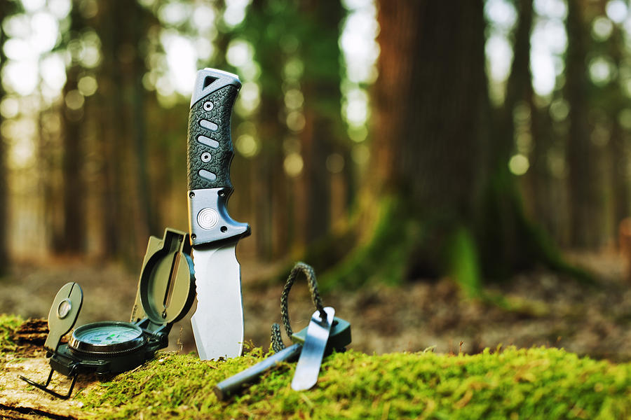 Basic Survival Tools Photograph by Gaspr13