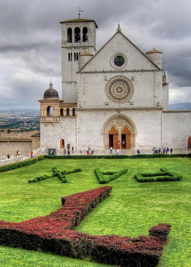 Basilica Of Saint Francis Of Assisi Photograph