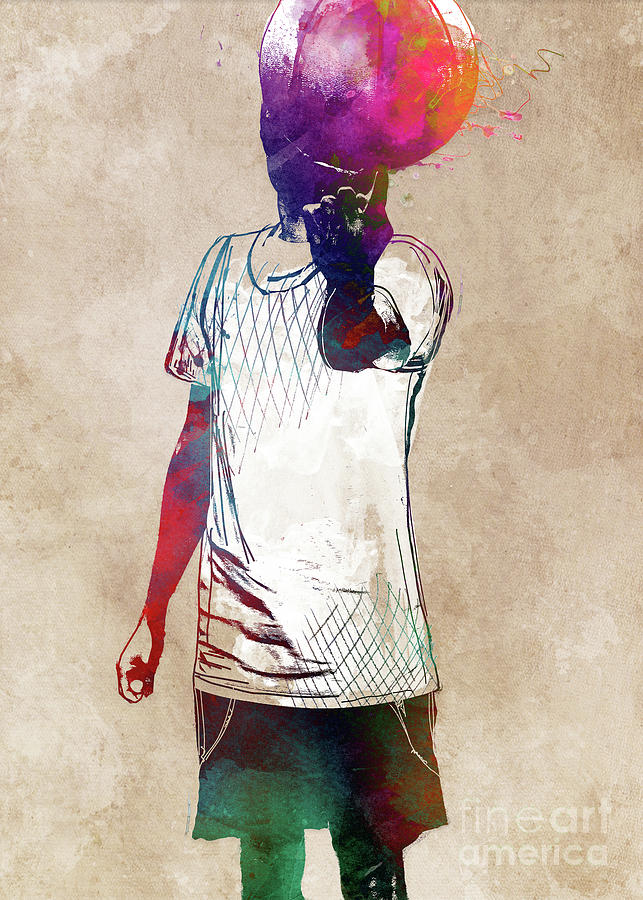 Basketball Player #basketball #sport Digital Art