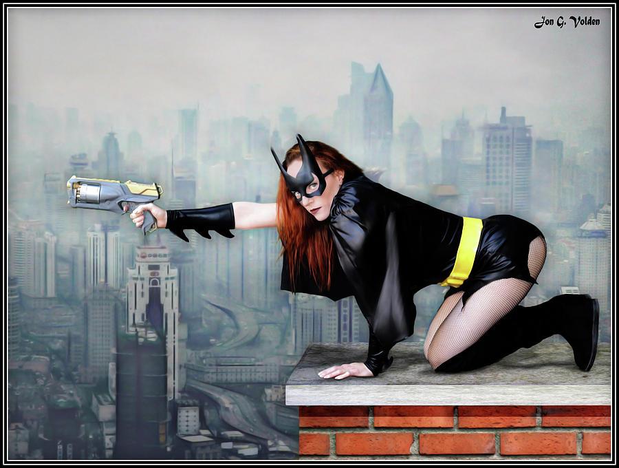 Bat Woman High Rise by Jon Volden
