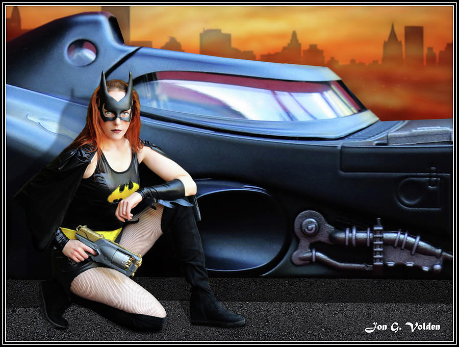 Bat Woman New Car by Jon Volden