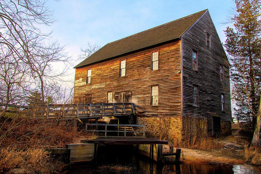 Batsto Sawmill Creekside by Kristia Adams