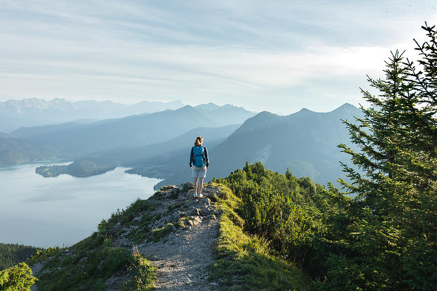 Bayerische Alpen - Herzogstand Photograph by Christoph Wagner