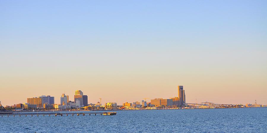 Bayfront Skyline by Kristina Deane