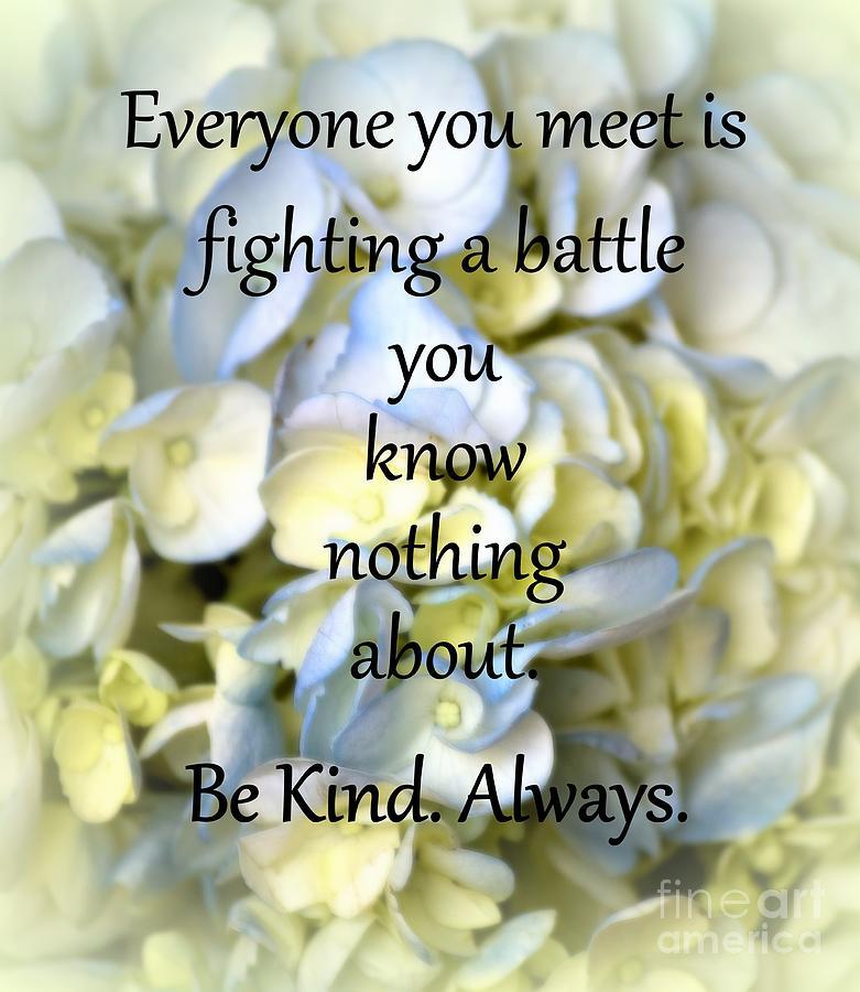 Be Kind by Patti Whitten