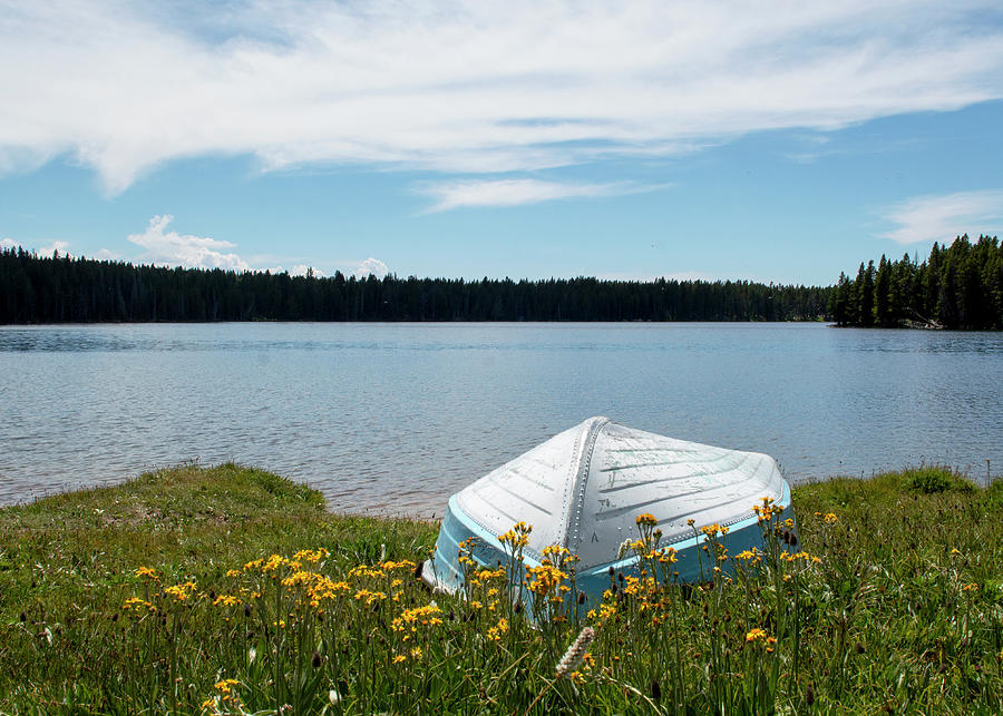 Canoe Photograph - Be Still and Breathe by Tracie Fernandez