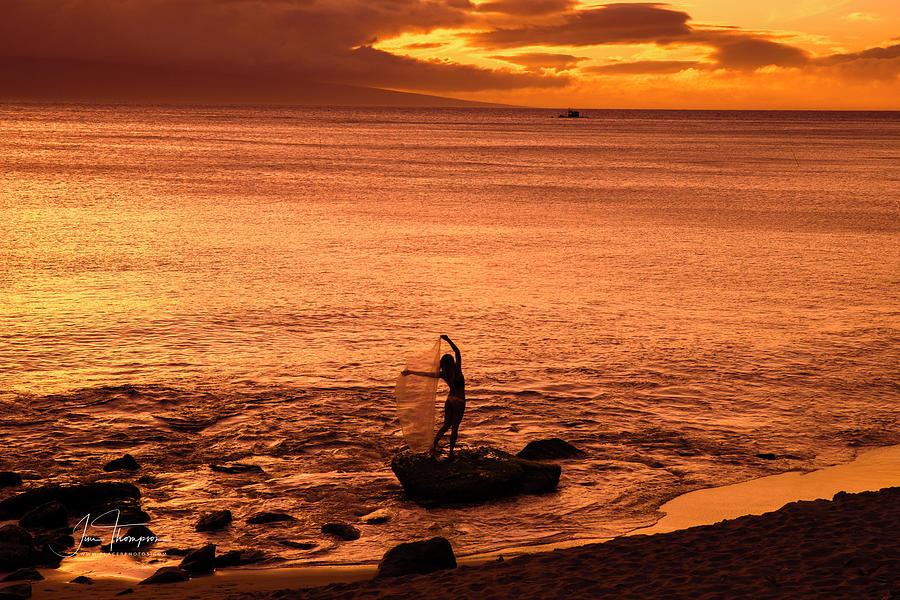 Hawaii Photograph - Beach Beauty by Jim Thompson