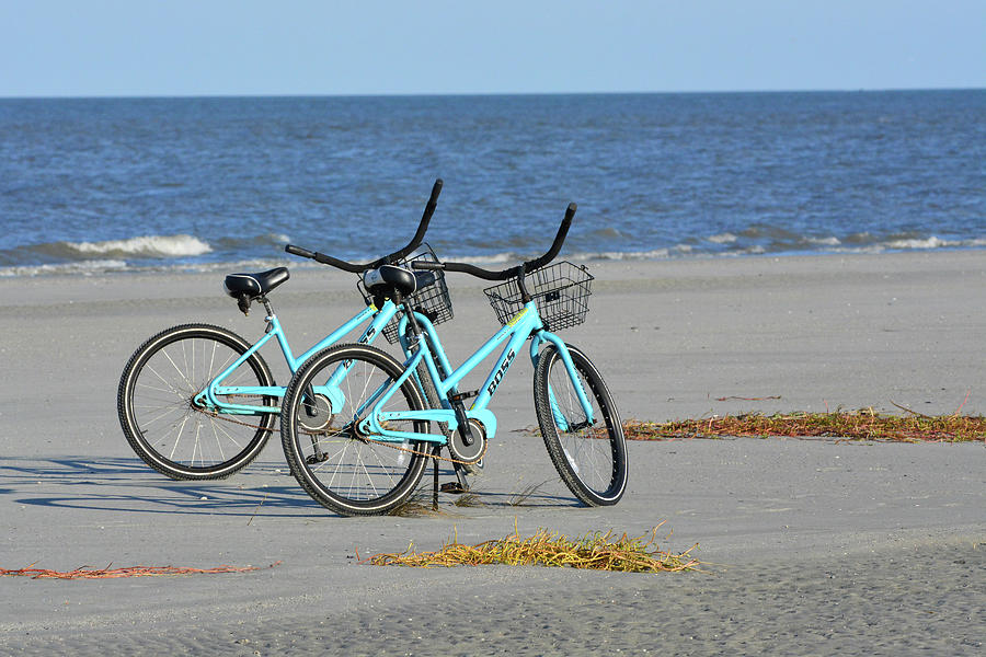 Beach Bikes by Jerry Griffin