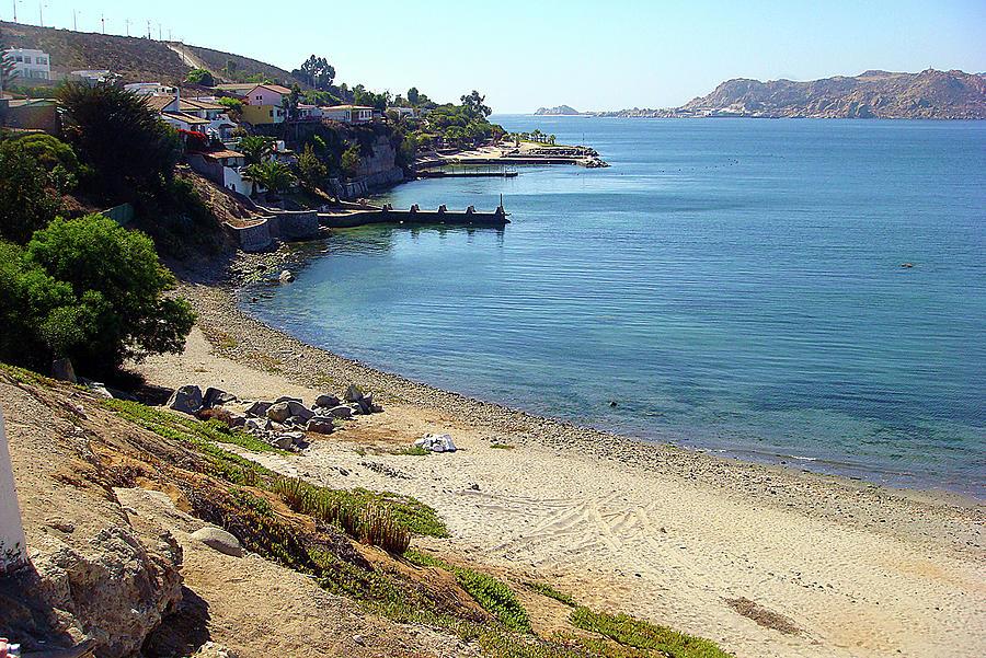 Beach Cove, Chile, South America Photograph by Karen Zuk Rosenblatt