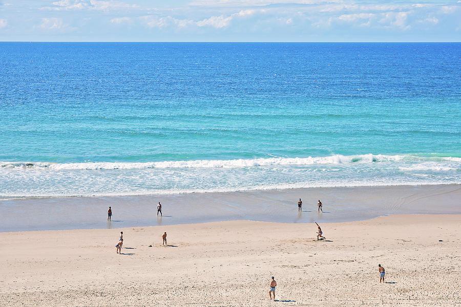 Beach Cricket Photograph