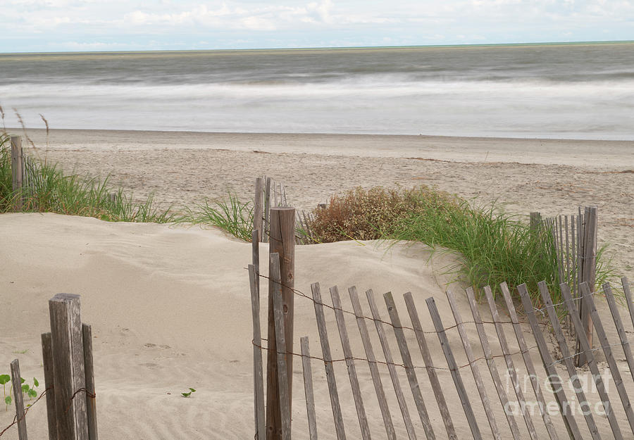 Beach Day - Isle Of Palms - Salty Waters Photograph