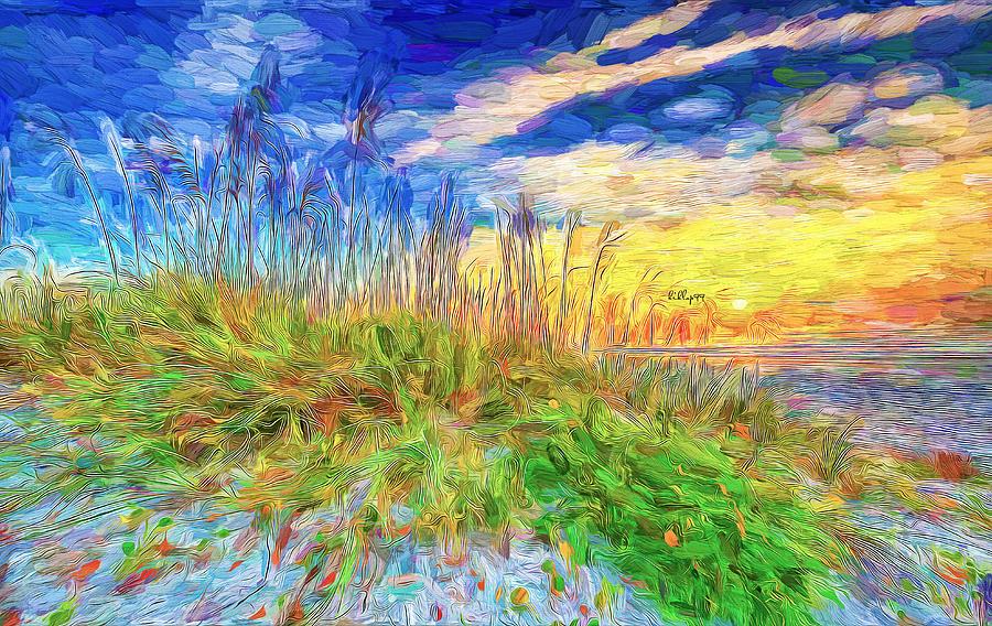 Beach Dune Painting