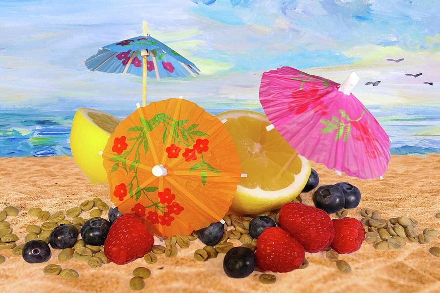 Beach Fun Still Life Digital Art