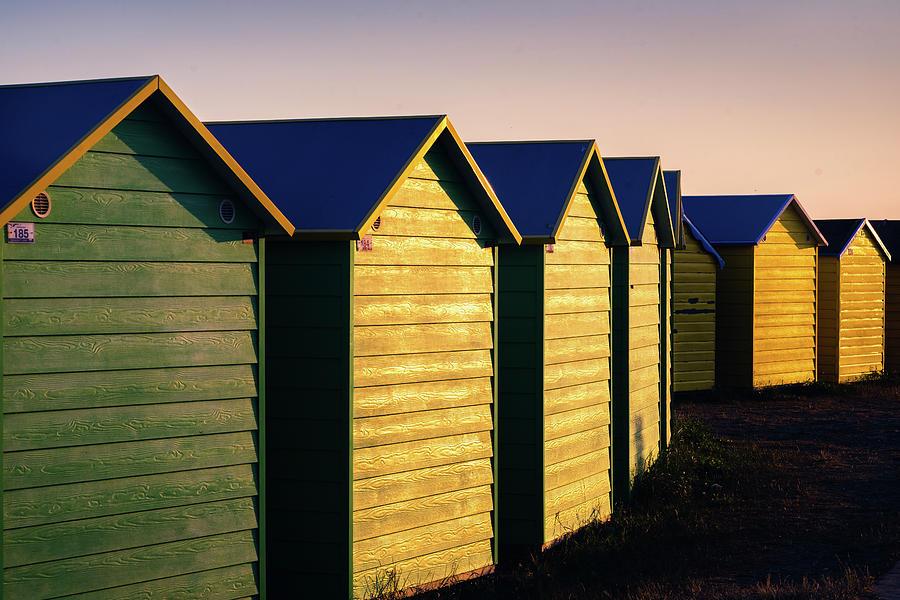 Beach Huts Photograph - Beach Huts by Simon Long