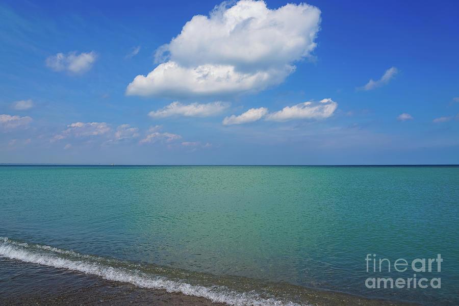 Beach Layers 2 Photograph