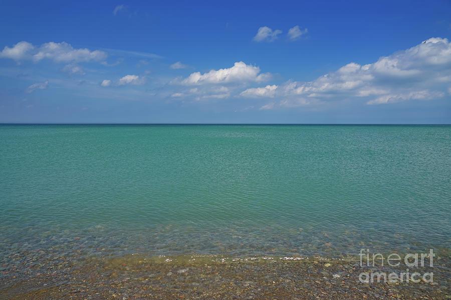 Beach Layers 3 Photograph
