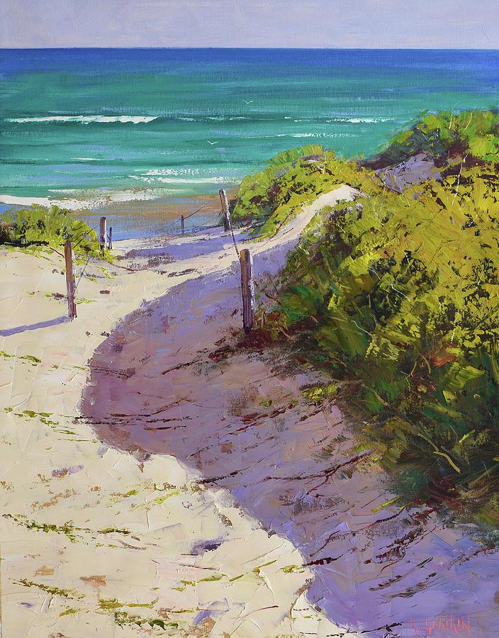 Beach Path Painting
