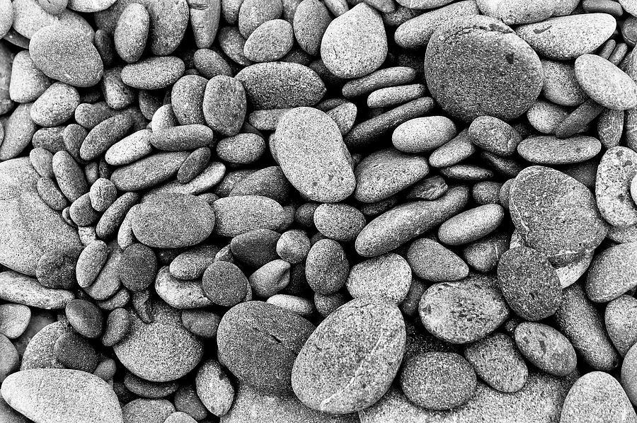 Beach Rocks Photograph
