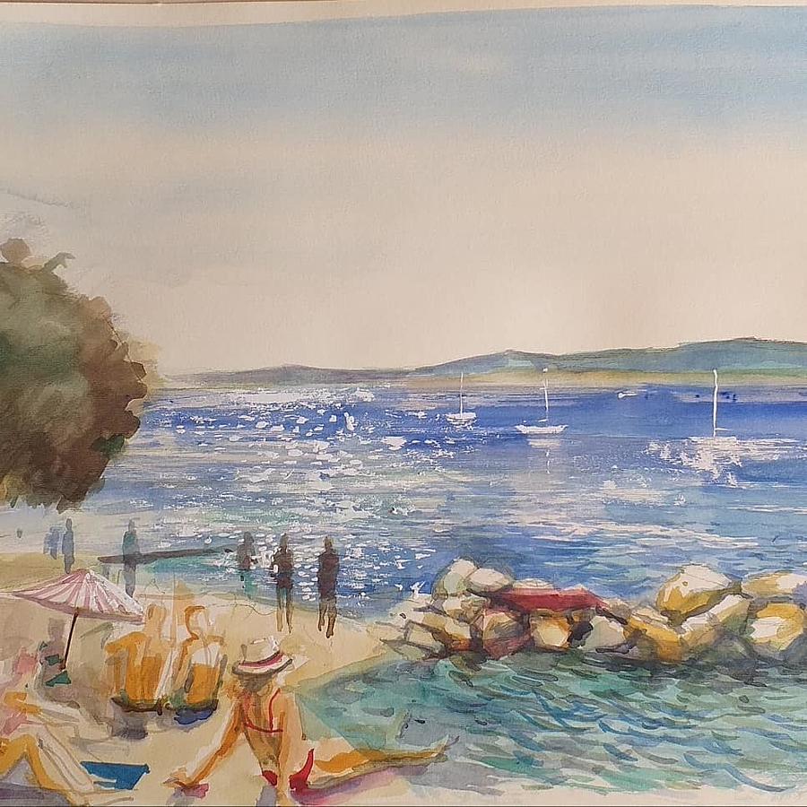 Beach Scenes Painting